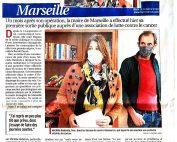 La Provence - Michèle Rubirola au Centre Ressource Marseille